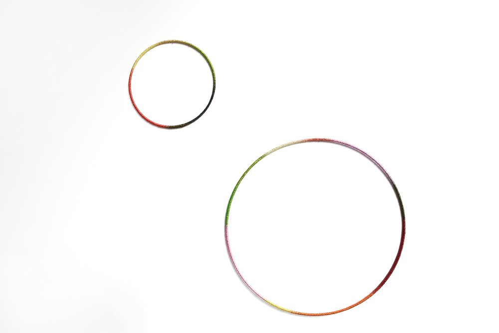 ring , 2012, wire, metal, dimensions variable   Extended Drawing, 2012, CAB, Brussels