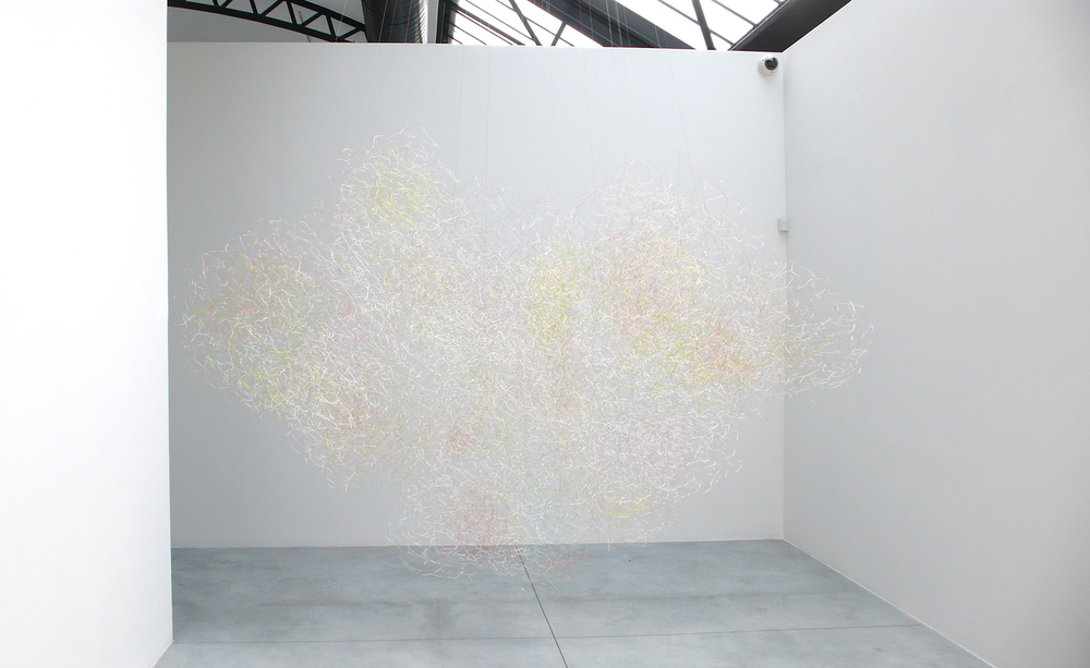 O B A F G K M, 2012, wire, dimensions variable
