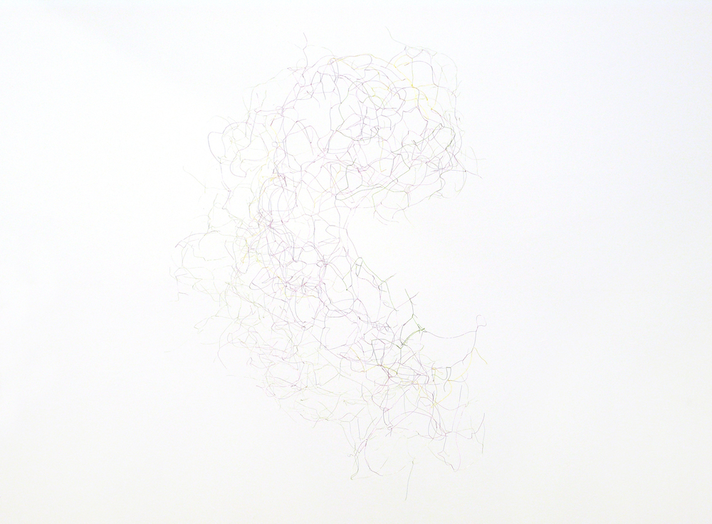 O B A F G K M L T, 2012, wire, dimensions variable