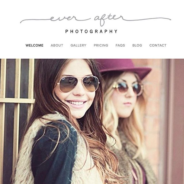 So excited to announce the launch of @leaheverafter of Ever After Photography's new website. Check it out at www.everafter.photography! #webdesign #graphicdesign #3dotdesignstudio