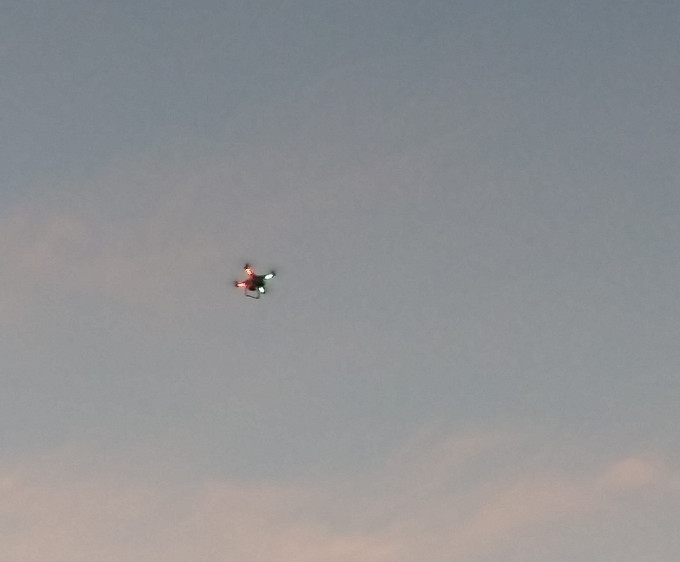 Drone at Newcomb Town Park.