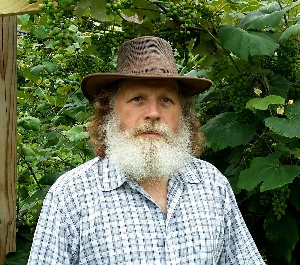 RJ Seney in one of his vineyards.