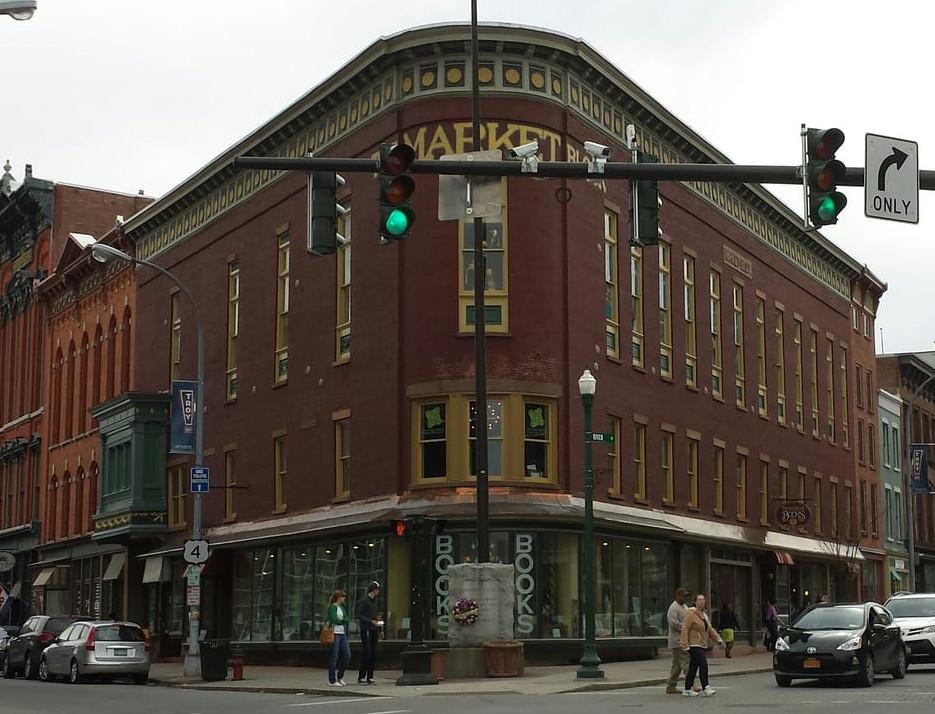 Market Block Books in Troy, NY. Stop in!