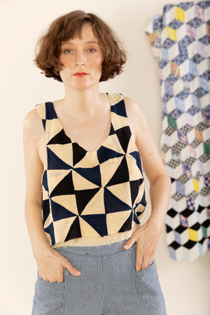 29a1720a5d84c Double Layer Tank - Patchwork