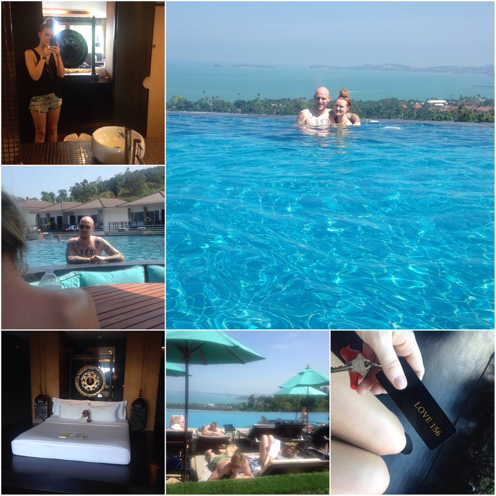 05/01/15 After a few days in our sick smelling, bass-y room, it was time to treat ourselves and check into Mantra Samui Resort & Spa. These photos don't do justice to how luxury it felt!