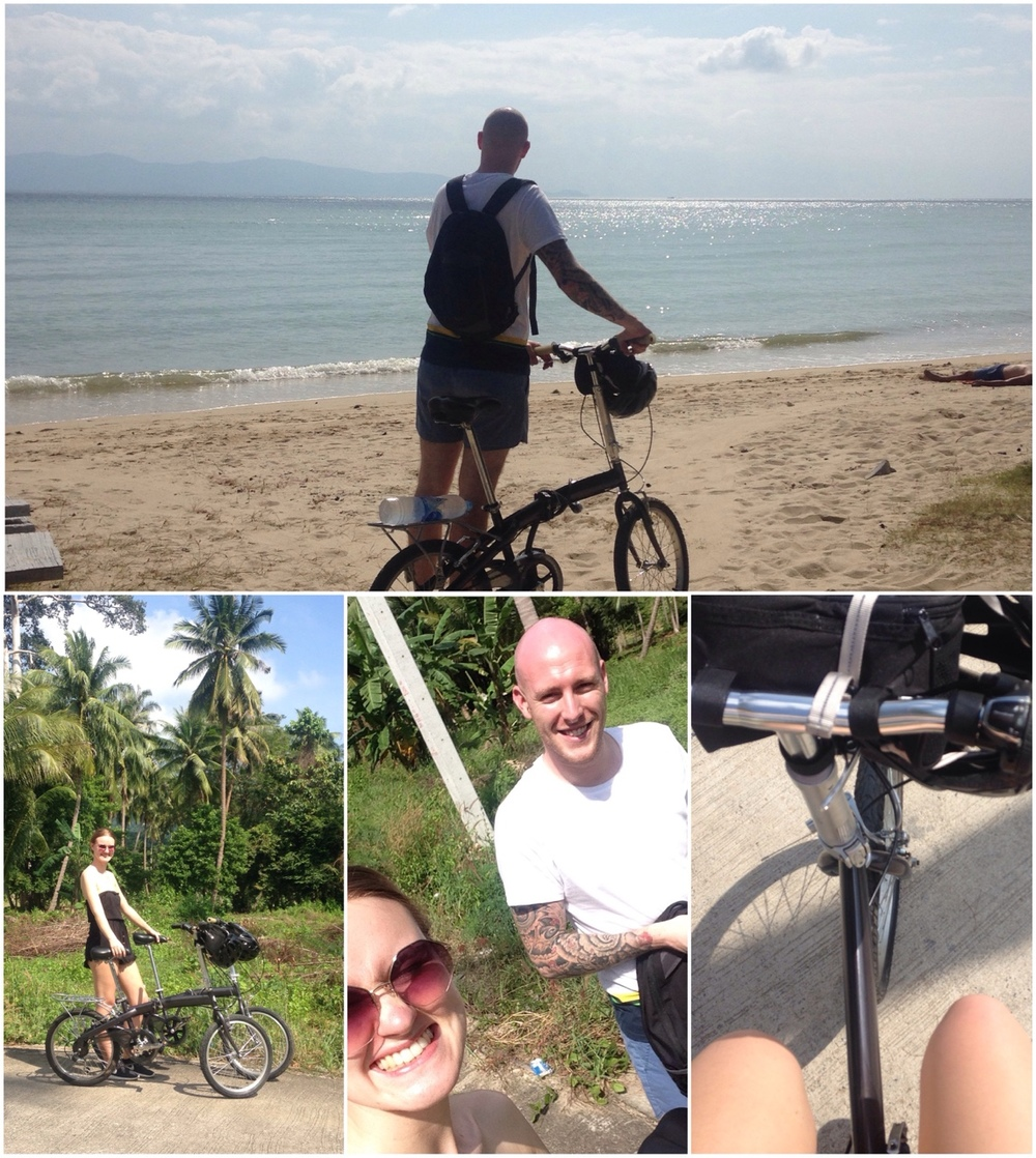 31/12/14 Despite taking up almost half of our luggage allowance and being the bane of our existences for most of the time, it was definitely worth bringing our folding bikes!