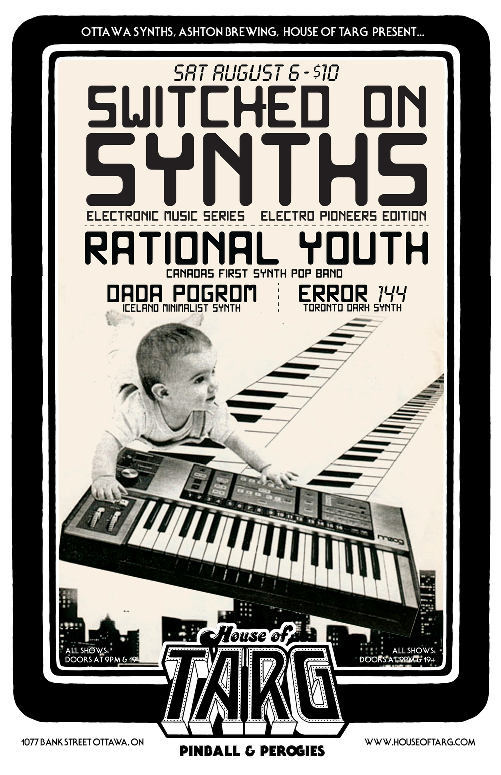 Electro Pioneers Edition featuring Canada's 1st Synth Pop Band RATIONAL YOUTH.  MORE INFO HERE