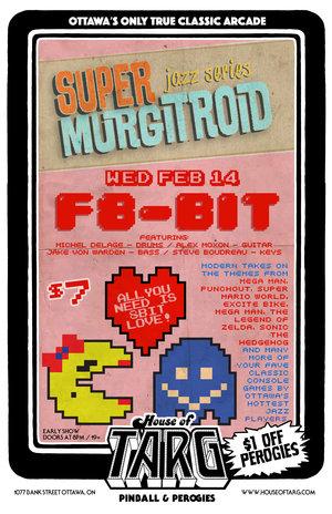 SUPERMURGITROID Jazz Nite: Video Game Music/Valentines Day Edition ...