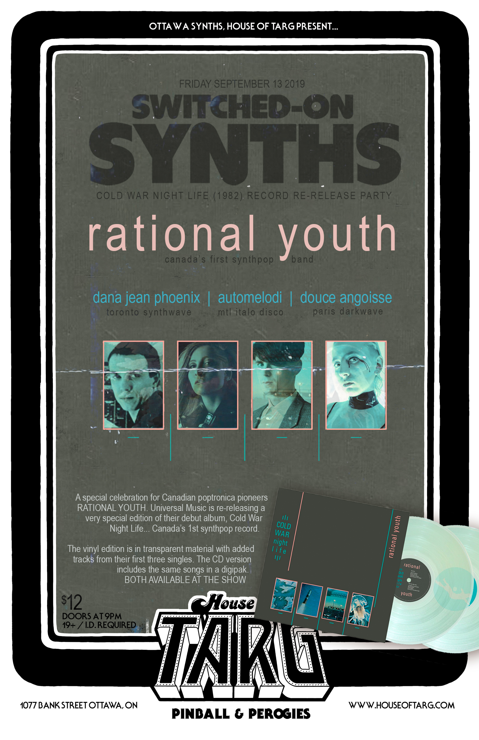 Switched On Synths: Cold War Night Life Edition w/ RATIONAL