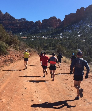 Some PBT runners getting in a long run in AZ.