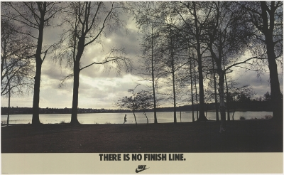 Nike's No Finish Line ad campaign of the 70's & 80's.