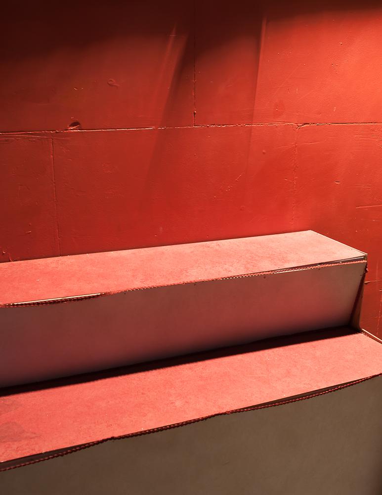 Voici une photo prise ce dimanche au théâtre de la Reine blanche.