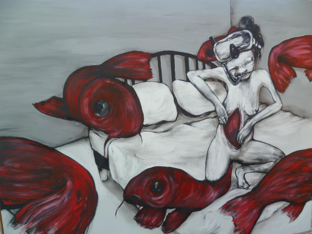 Live Painting at Stroke, Urban Art Fair, 2011