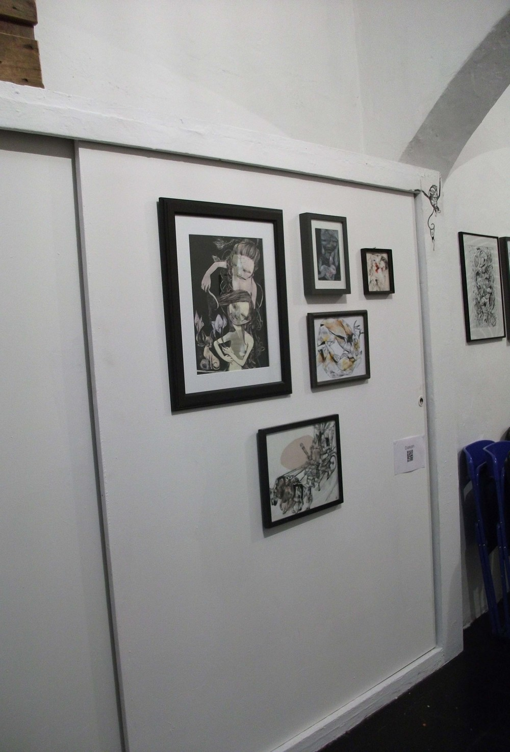 Collective Exhibition at Studio D'Ars, Milano, 2013