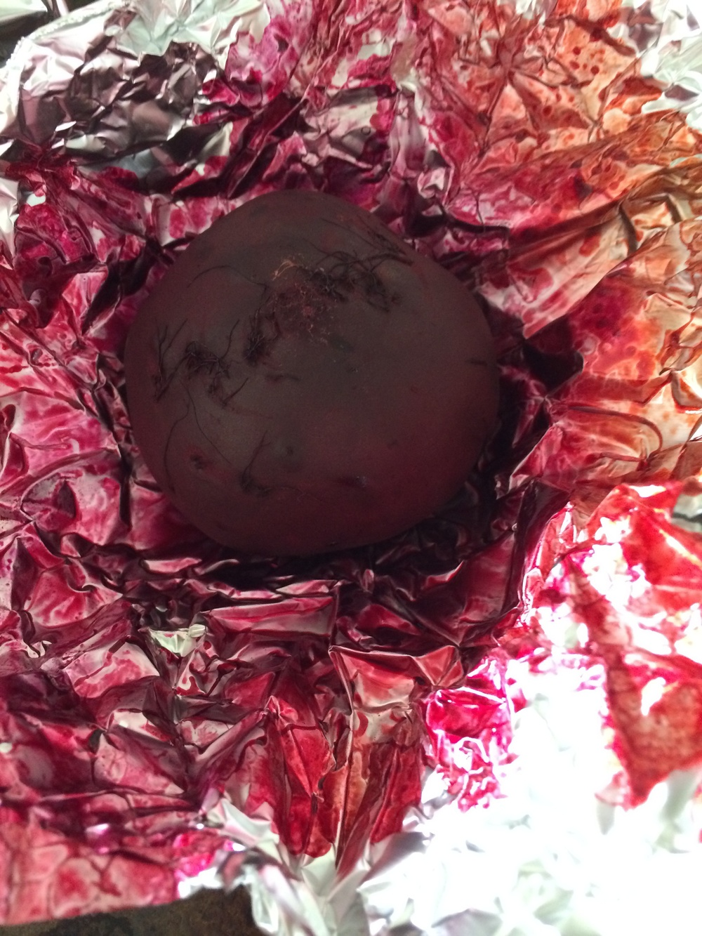 Lovely color in our roasted beet.