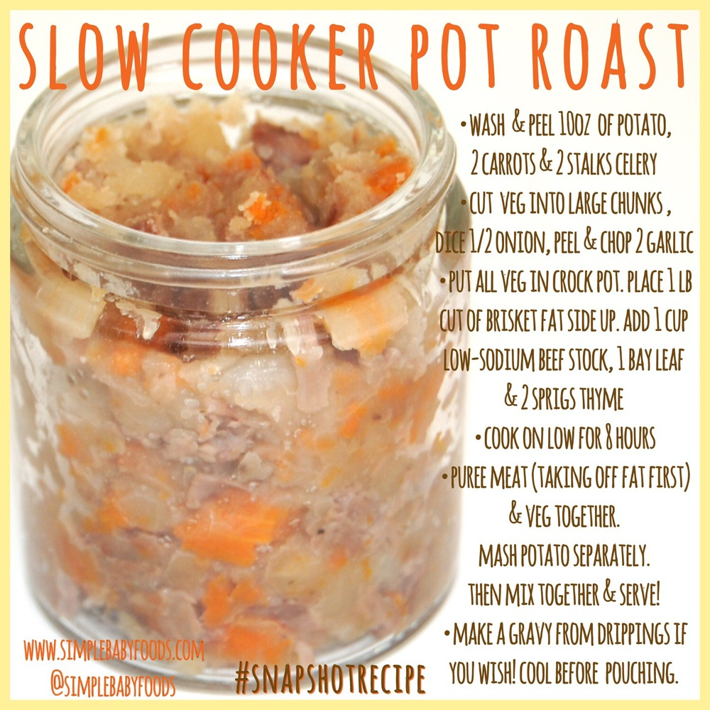 Snapshot recipe slow cooker pot roast simple baby foods imageg forumfinder Choice Image