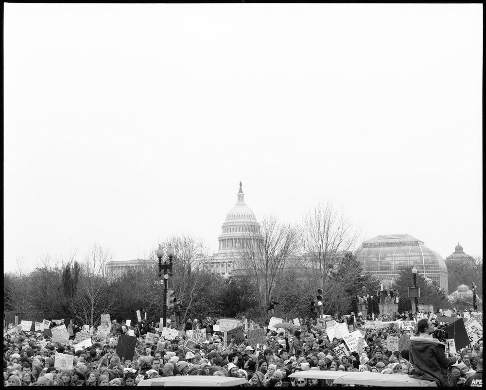 Million Women March , Washington DC, 01.21.17
