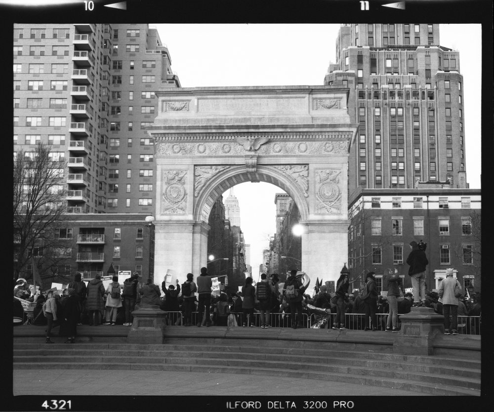 International Women's Day,  Washington Square Park, 03.08.17