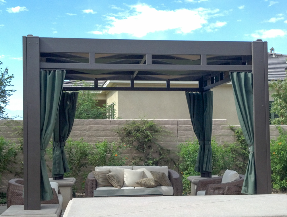 Beautiful Poolside Patio Canopy 92260