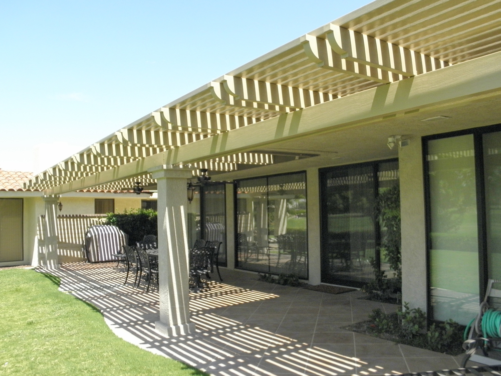 Lattice Patio Shade Cover, Indian Wells, CA
