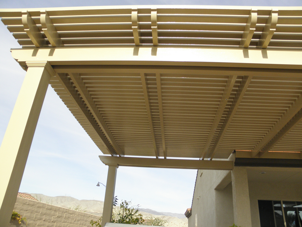 Lattice Patio Cover, Pam Springs, CA