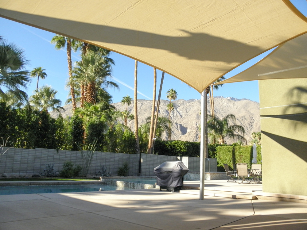 Three Shade Sail Patio Covers, 92262