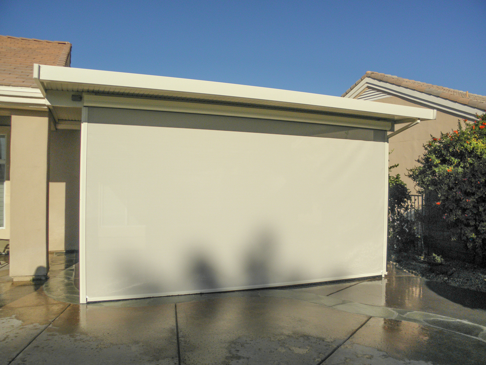 Drop Screen Photos Valley Patios Custom Patio Covers