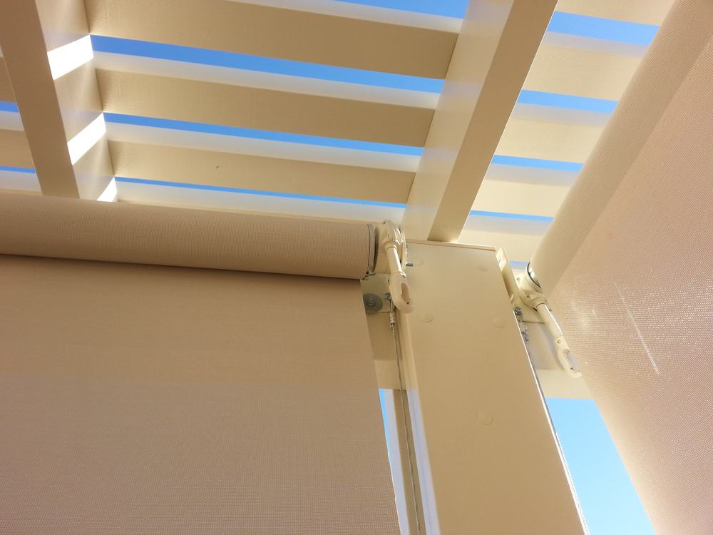 Custom Made Dropshade for Alumawood Patio Cover, Indio, CA 92203