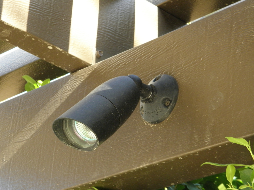 Low Voltage Patio Cover Spot Lights, Rancho Mirage, CA, 92270