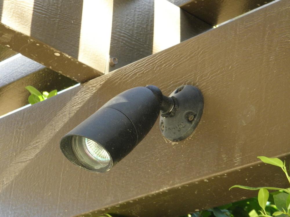 Low Voltage Patio Cover Spot Lights, Rancho Mirage, CA, 92270