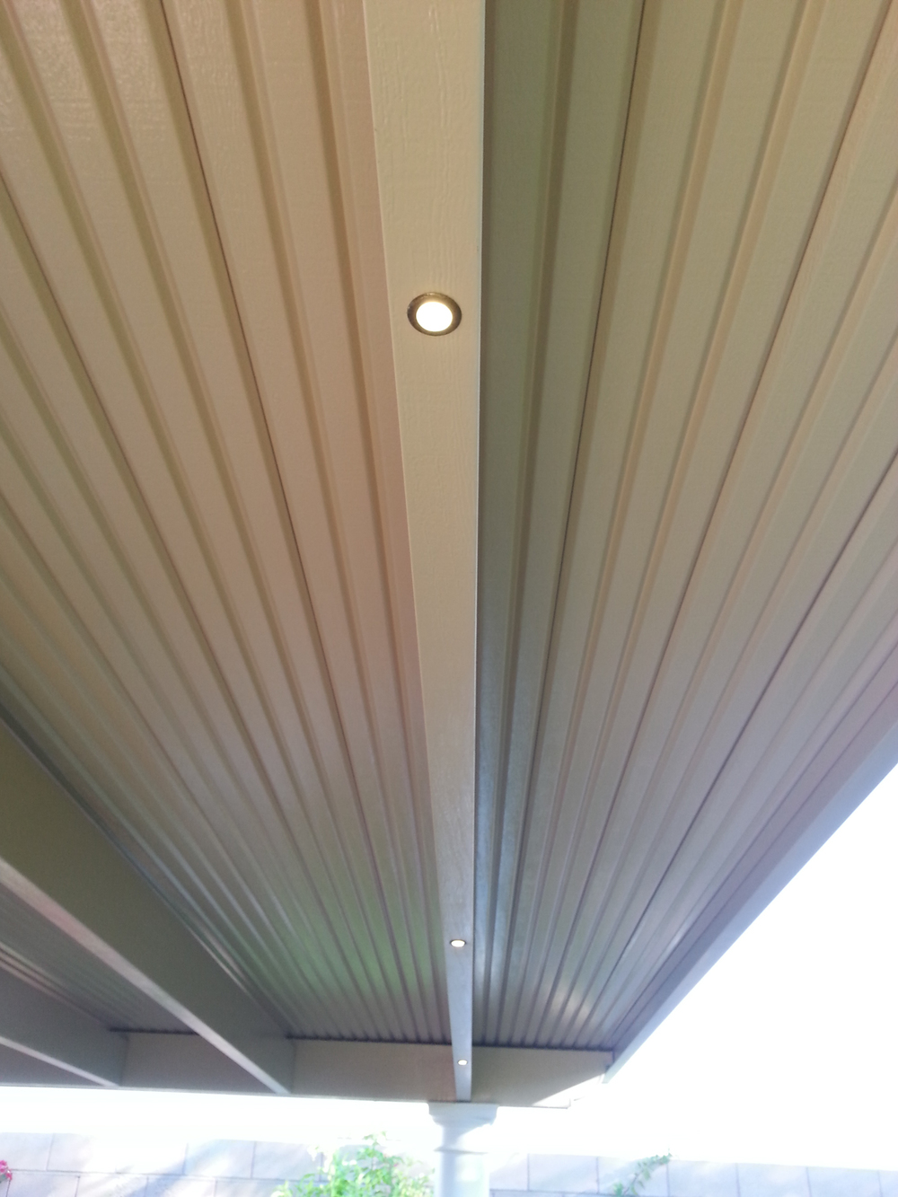 Outdoor Lighting for Patio Cover, 92211