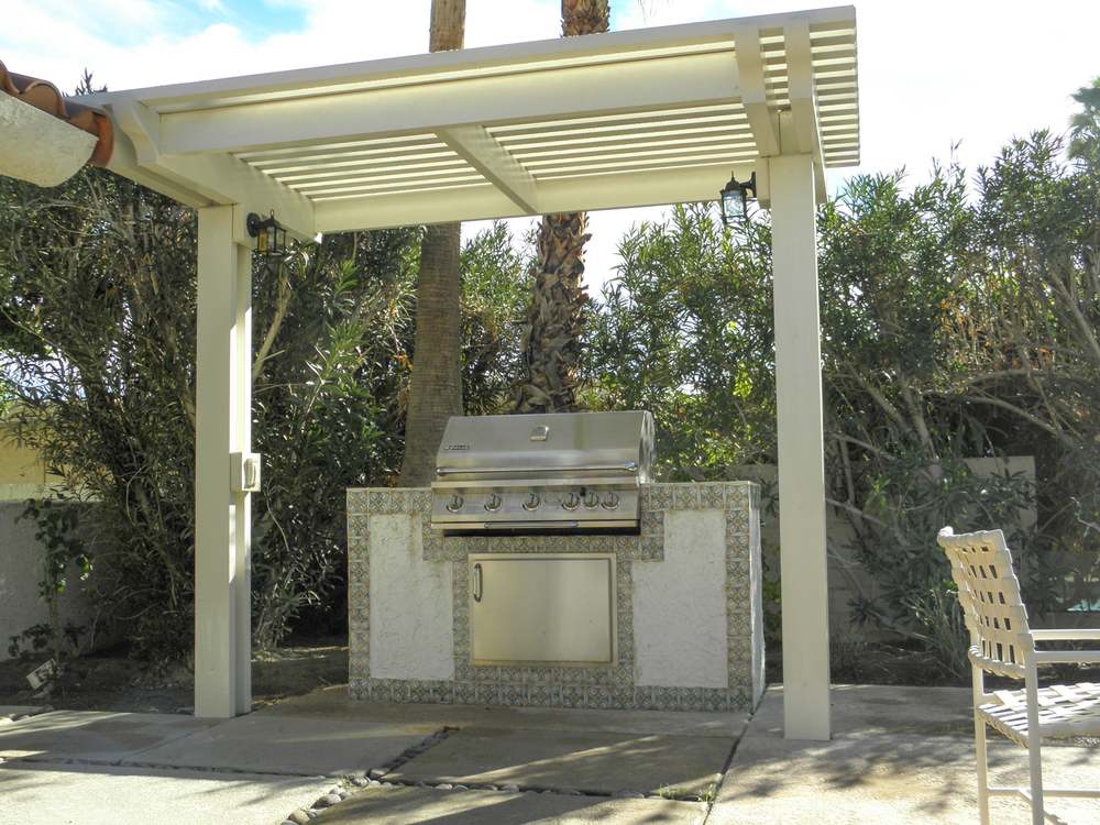 BBQ under Lattice Gazebo, Palm Desert, CA 92211