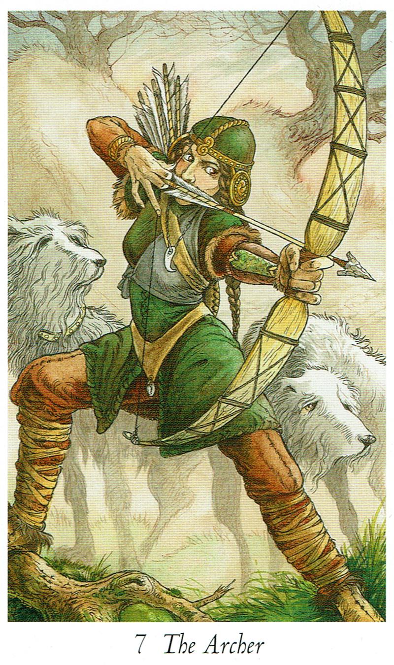 The Archer - Wildwood Tarot
