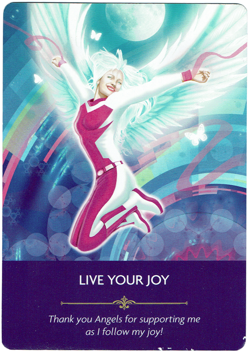 Live Your Joy - Angel Prayers Oracle