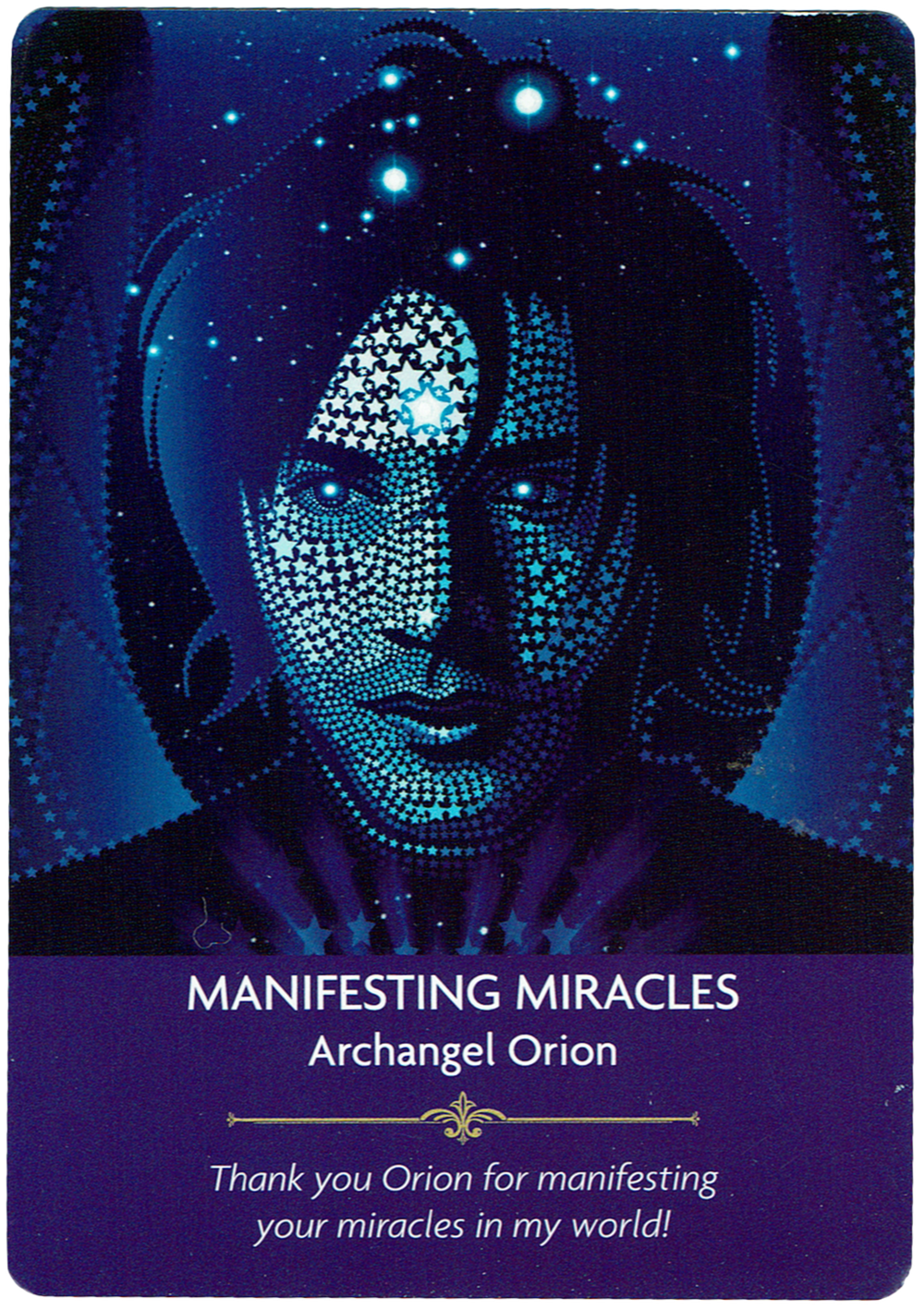Manifesting Miracles - Archangel Orion - Angel Prayers Oracle