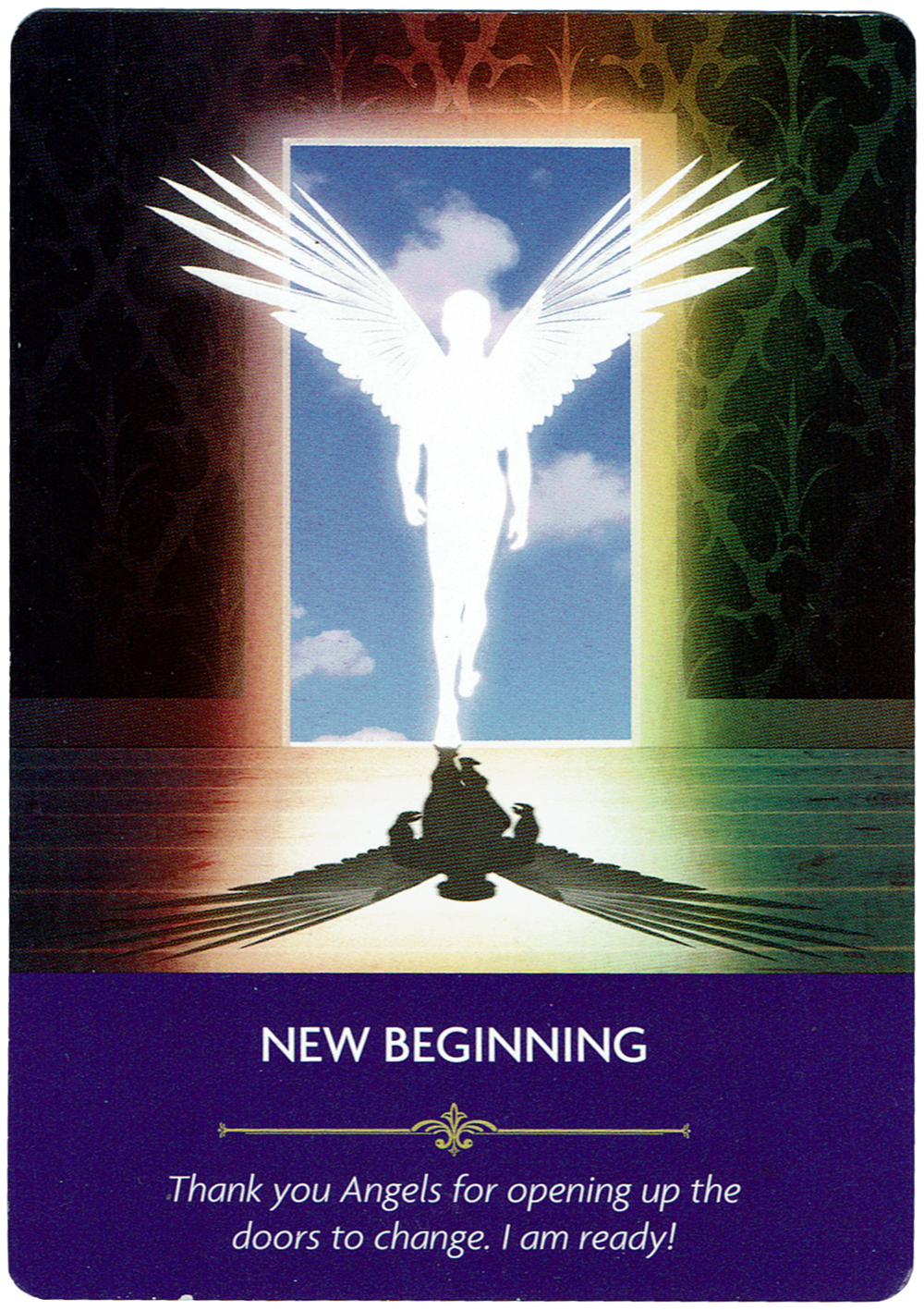 New Beginning - Angel Prayers Oracle
