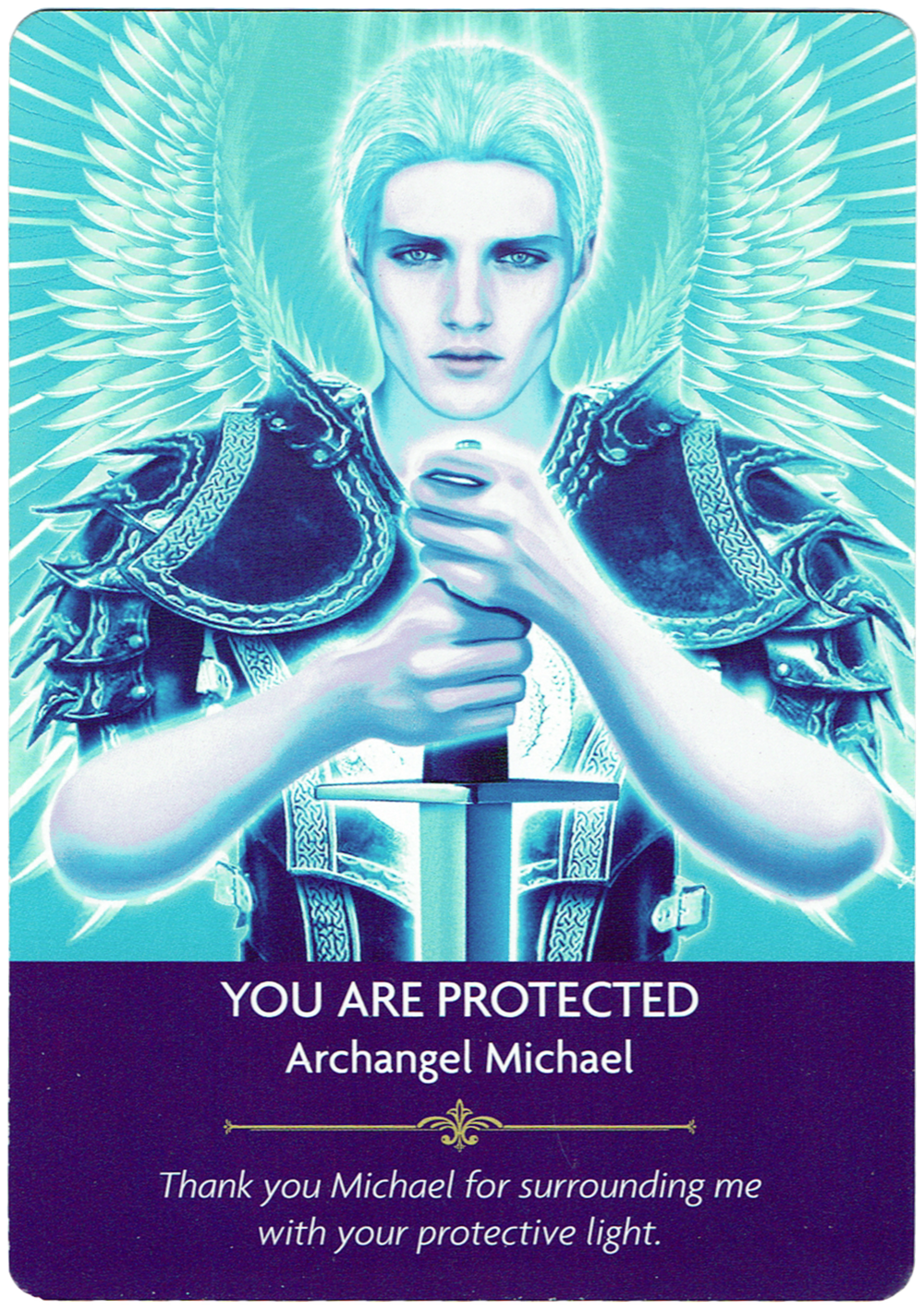 You Are Protected - Archangel Michael - Angel Prayers Oracle