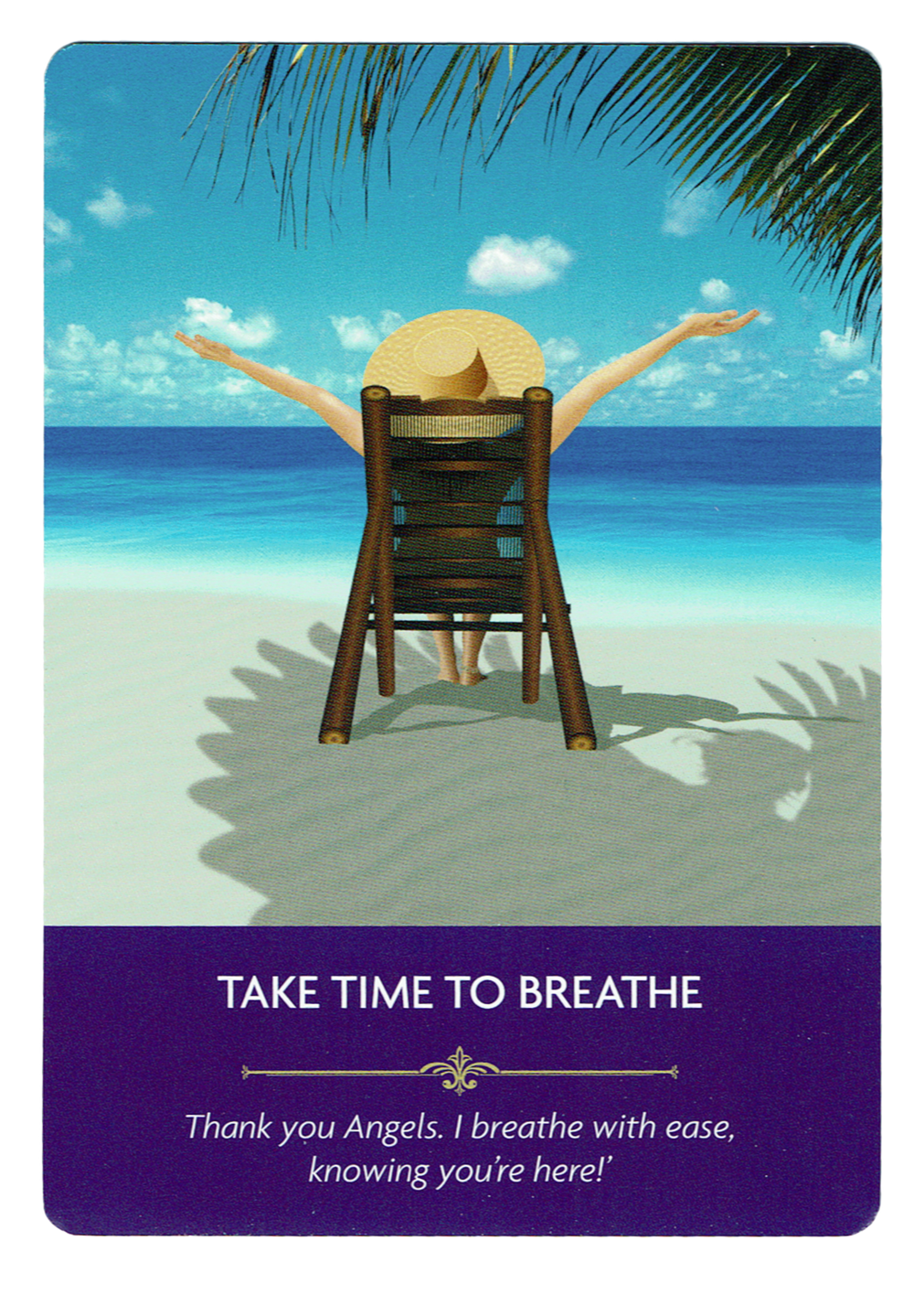 Take Time to Breath - Angel Prayers Oracle