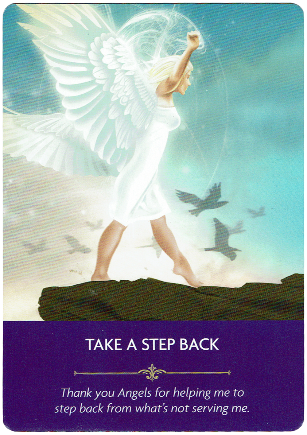 Take a Step Back - Angel Prayers Oracle