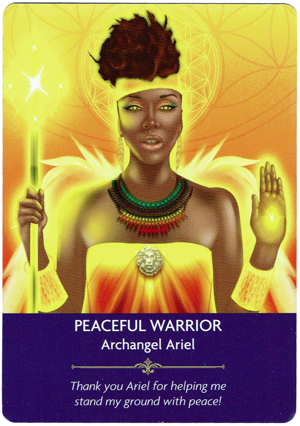 Peaceful Warrior - Archangel Ariel