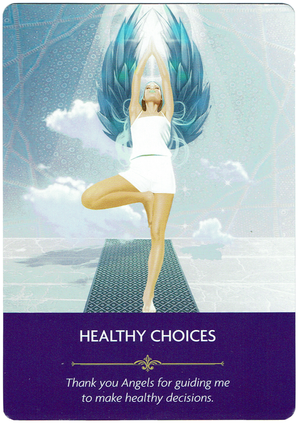 Healthy Choices - Angel Prayers Oracle