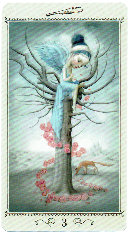 Three of Wands - Nicoletta Ceccoli Tarot