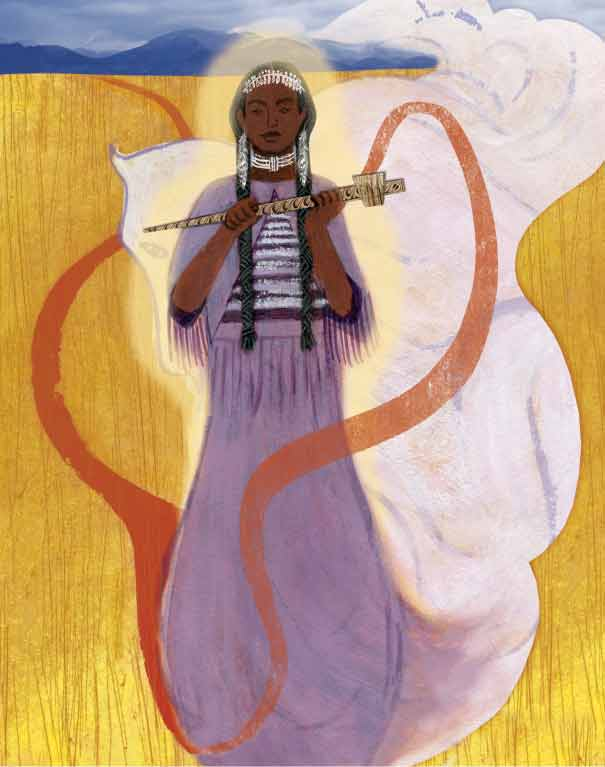 White Buffalo Calf Woman ~ Integrity