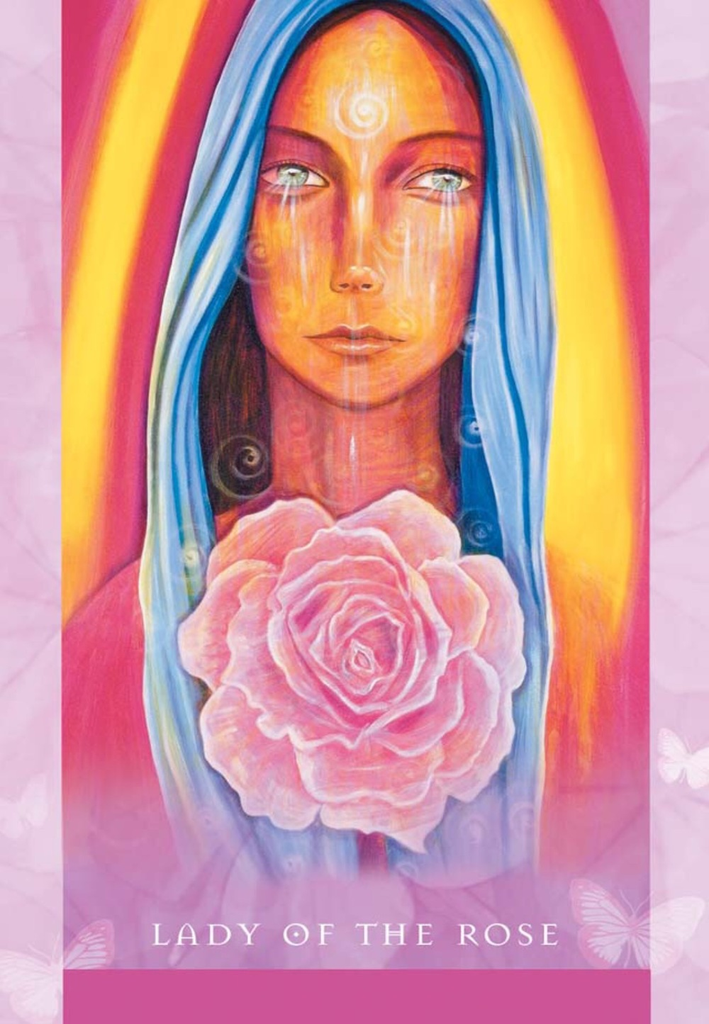 Lady of the Rose from the Universal Wisdom Oracle
