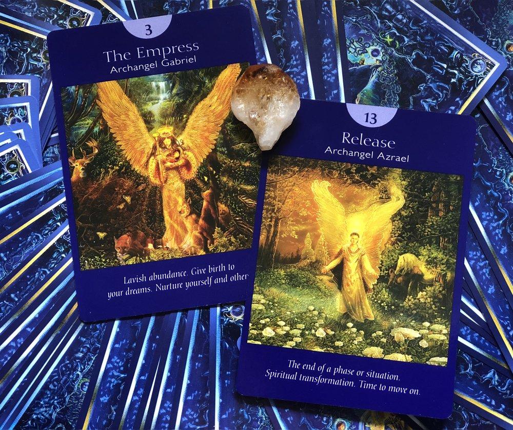 Angel Tarot by Radleigh Valentine