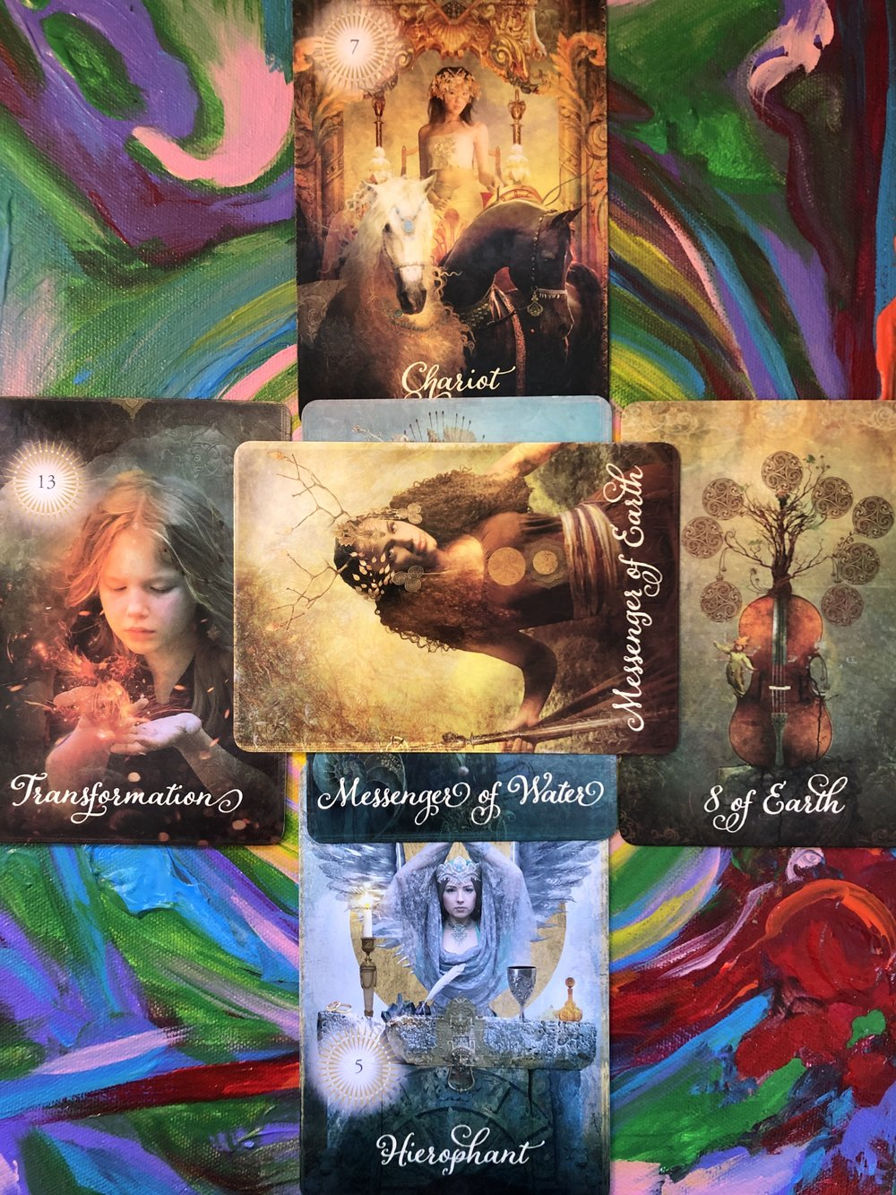 The Good Tarot/ Artwork by Crystal Mays at www.crystalmays.com