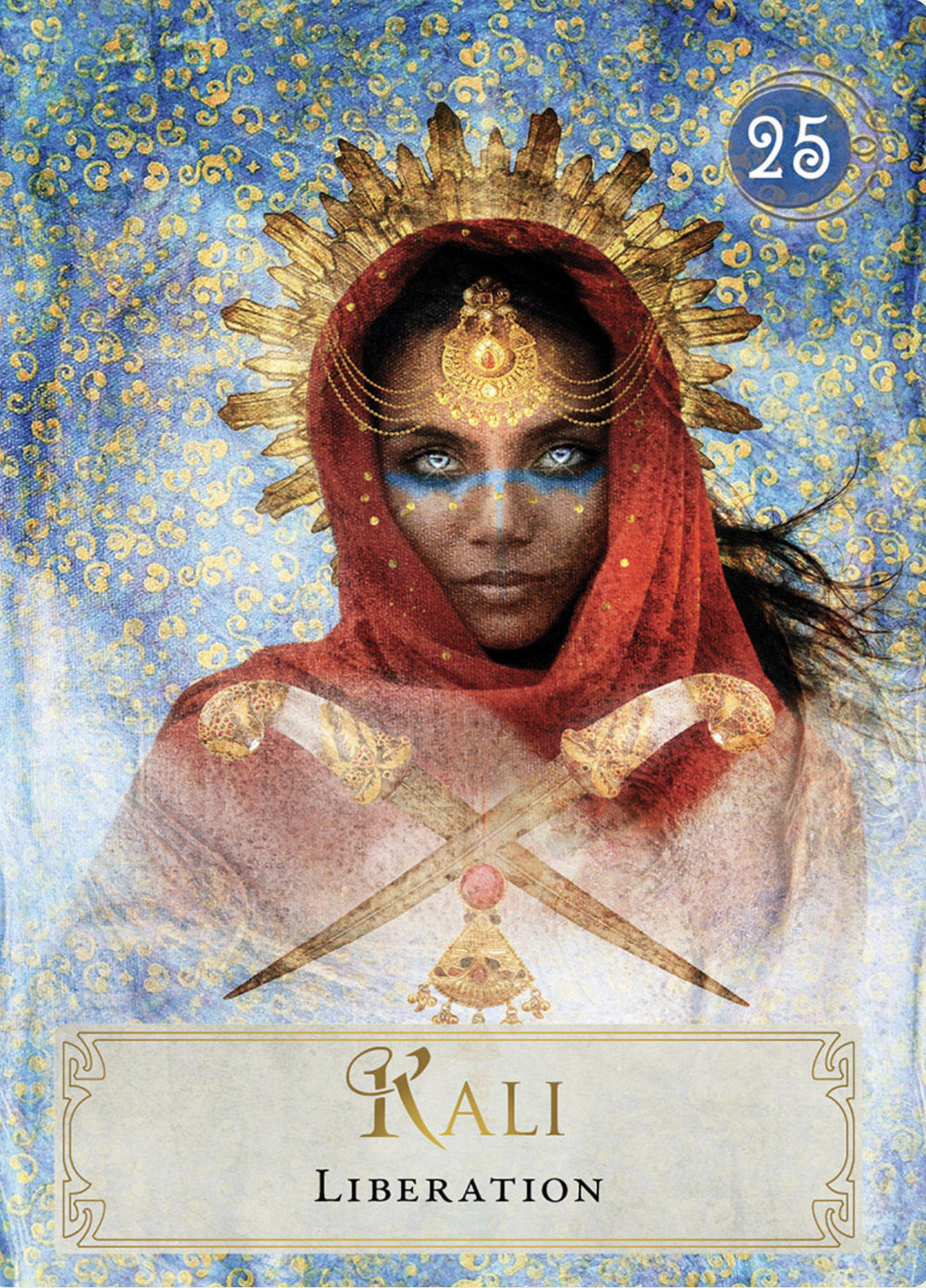 Kali from the Goddess Power Oracle