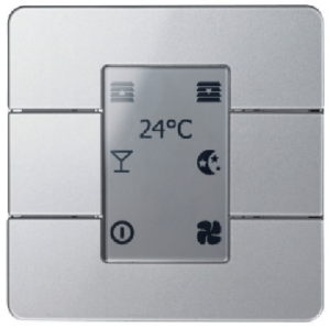 Dynalite keypad with blind control
