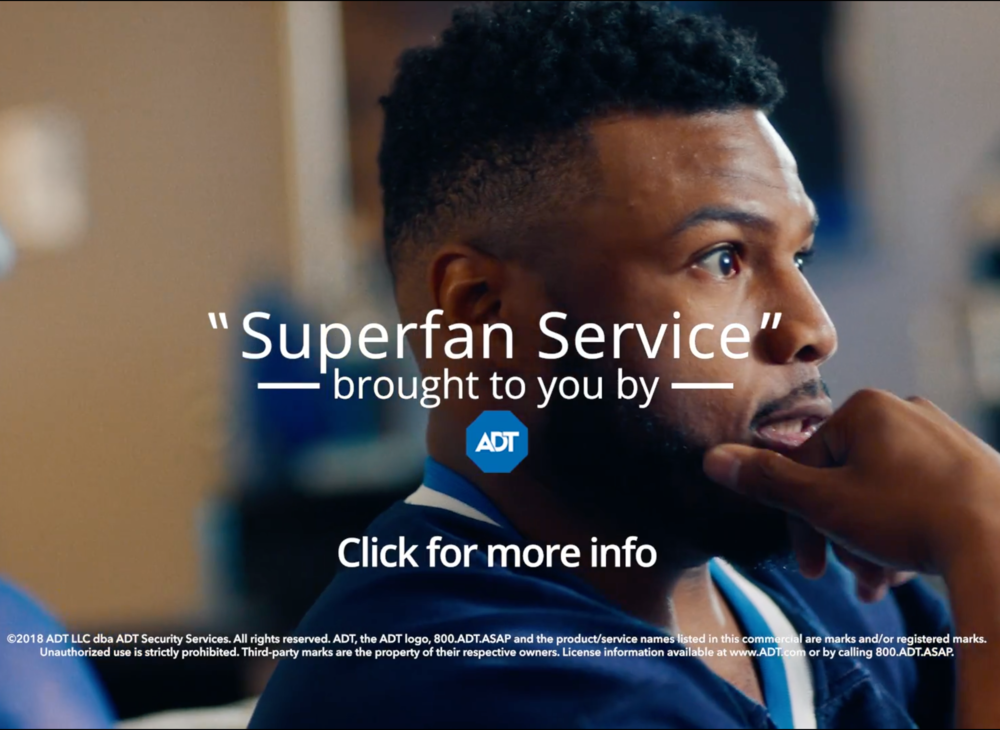 "ADT Security: ""Super Fan"" Commercial; ""Sled"" Commercial   Credits: Composer, Electric Guitar, Electric Bass, Drums, Piano, Synths, Sound Design, Production, Mix"