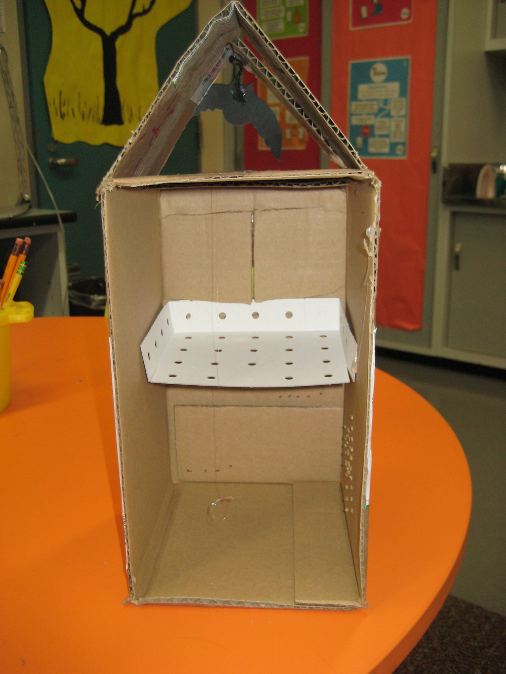 A teacher model of a design project